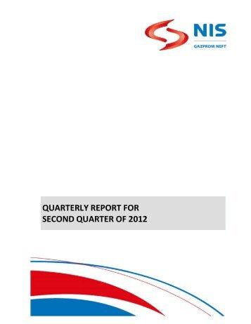 Q2 2012 - NIS