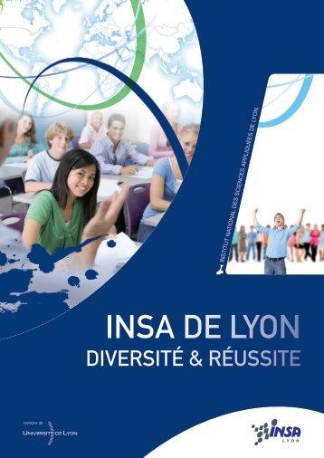 Plaquette de présentation CDR - Centre Diversité Réussite - INSA ...