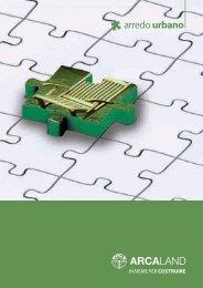 Scarica la Brochure ARREDO URBANO in versione ... - Guida Edilizia