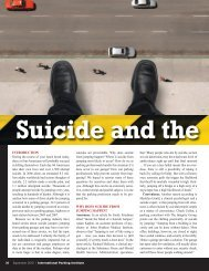 Suicide and the - International Parking Institute