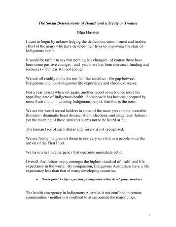 Health Outcomes Essay