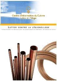 Lutter contre la légionellose - Le Centre d'Information du Cuivre ...