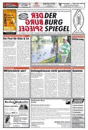 OKAUTOMOBIL MAI-Special - Der BurgSpiegel / Der Genthiner
