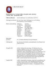 Läs Rådsberättelsen som pdf-fil - Carlstads-Gillet