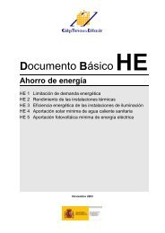 Código Técnico de la edificación. Documento Básico ... - EcoHabitar