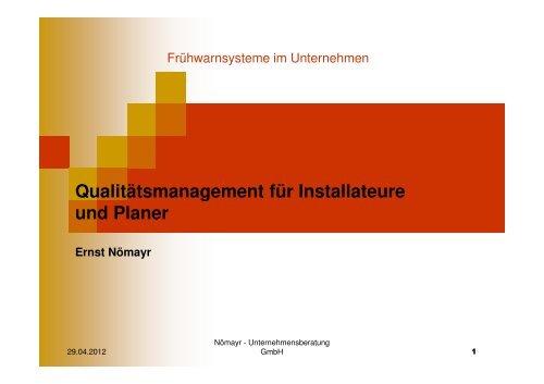 Qualitätsmanagement - vhks.at