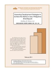 Assessing Development Strategies to Achieve the MDGs in Asia ...