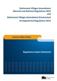Queensland Retirement Villages Discussion Paper - Office of