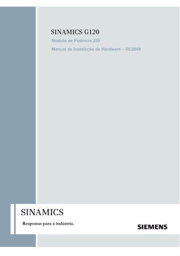 SINAMICS G120P - Industry