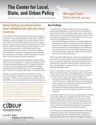 report in pdf format - Center for Local, State, and Urban Policy