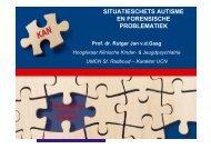 ASD & Forensische Problematiek - RINO Groep