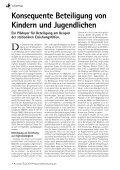 und Jugendarbeit und Partizipation - Kinder beteiligen! - Seite 4