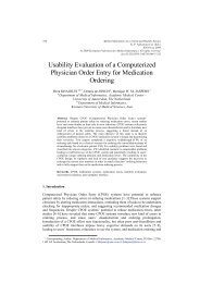 Usability Evaluation of a Computerized Physician Order Entry for ...