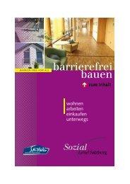 Barrierefrei bauen, Land Salzburg - Stadt Salzburg