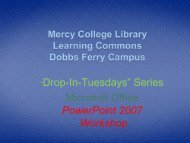 PowerPoint 2007 Tutorial