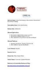 CYBSEC Security Advisory Documentum dmclTrace XSS (PDF)