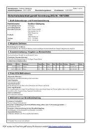 Sicherheitsdatenblatt gemäßVerordnung (EG) Nr ... - Wendisch-PS
