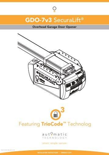 Trigon Recall II Operating Instructions Manual