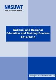 Training Programme 2013-2014 - NASUWT