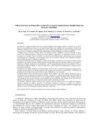 impactos das alterações climáticas nos ecossistemas terrestres da ...