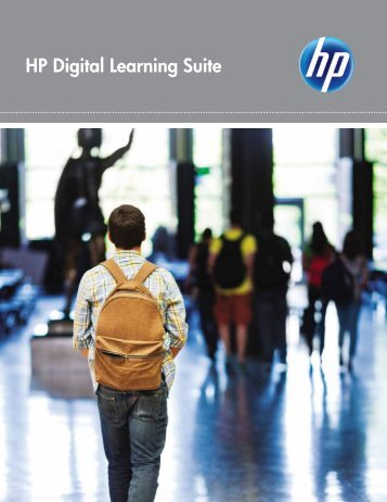 HP Digital Learning Suite.pdf - Digital Learning Environments