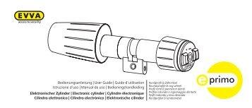 Elektronischer Zylinder - dz-schliesstechnik gmbh