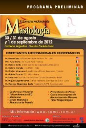 PROGRAMA PRELIMINAR - Sociedad Chilena de Mastología