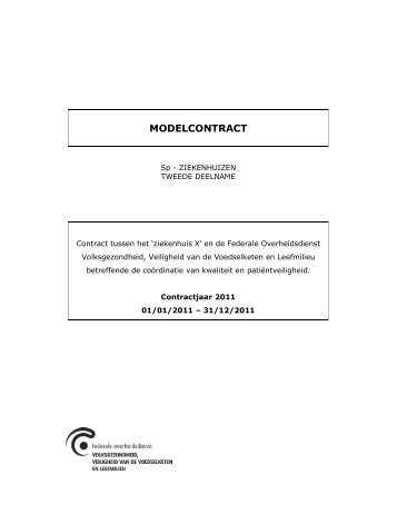 MODELCONTRACT - Logo FOD VVVL