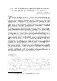 Artigo - Rede de Estudos do Trabalho