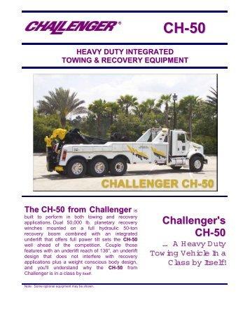 Challenger's CH-50 - Zip's Truck Equipment