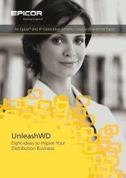 UnleashWD - Zift Solutions