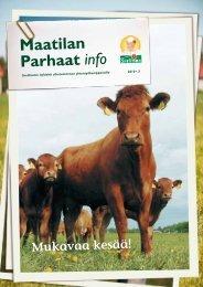 Maatilan Parhaat info 3 / 2010 - Snellman