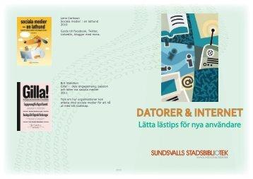 DATORER & INTERNET - Sundsvall