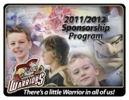 Family. - West Kelowna Warriors