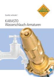 KARASTO Wasserschlauch-Armaturen