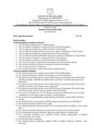 28. novembra domes sēdes protokols - Ropaži.lv