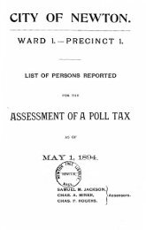 Assessed Polls 1894 - Newton Free Library