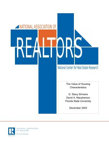 Executive Summary - National Association of Realtors