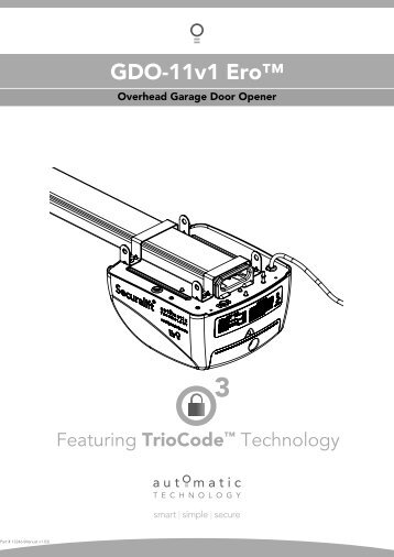 Garage Door Openers Buying Guide Sears Canada