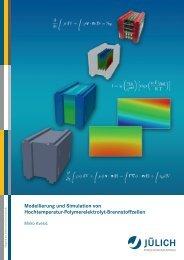 Modellierung und Simulation von Hochtemperatur ... - JuSER