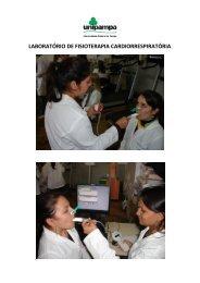laboratório de fisioterapia cardiorrespiratória - UNIPAMPA Cursos