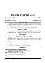 Química Orgânica Geral