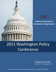 2011 Conference Final Agenda and Program - NADO.org