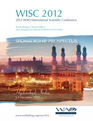 WISC 2012 - World Allergy Organization