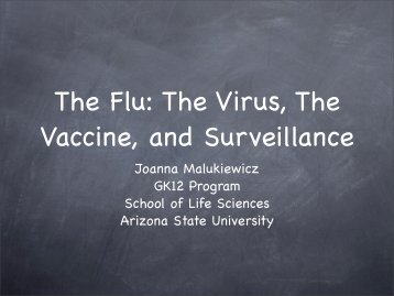 flu lesson lecture.pdf - GK12 - Arizona State University