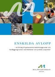 Bedömningsgrunder för enskilda avlopp (pdf-fil 1 MB) - Kristianstad