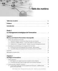 Management de l'innovation - Pearson