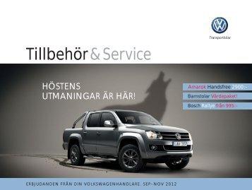 Tillbehör & Service - Volkswagen Stockholm