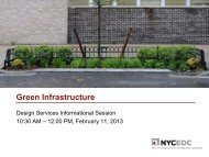 Green Infrastructure - NYCEDC