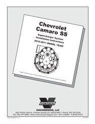 1990-1995 5 7L TBI Truck/SUV - Vortech Superchargers